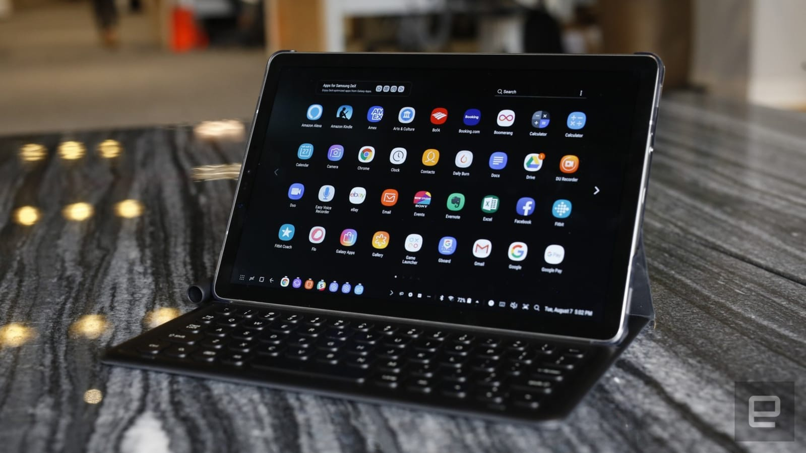 The Galaxy Tab S4 is built for work, but gets very little done