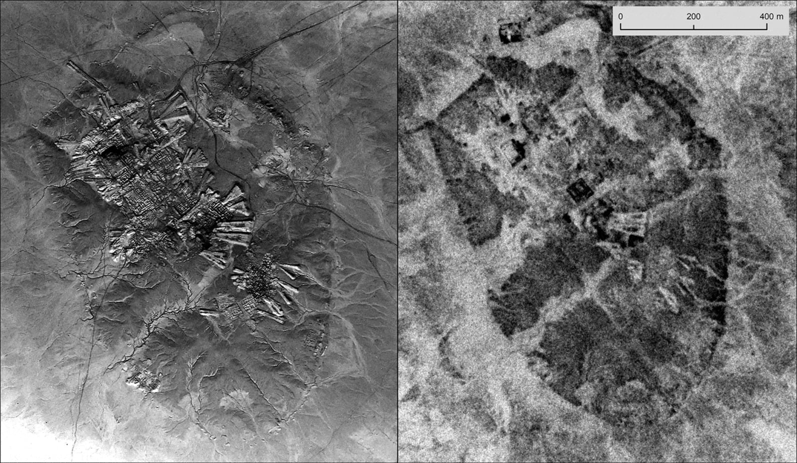 U-2 aerial image compared a Corona satellite