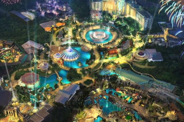 Universal's Epic Universe theme park