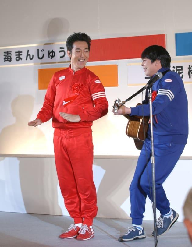 テツandトモ(2003年撮影)