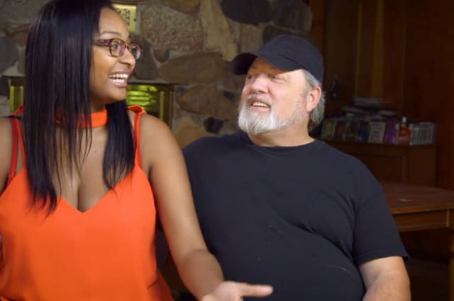 I'm 23, he's 55 - but he's not my sugar daddy!