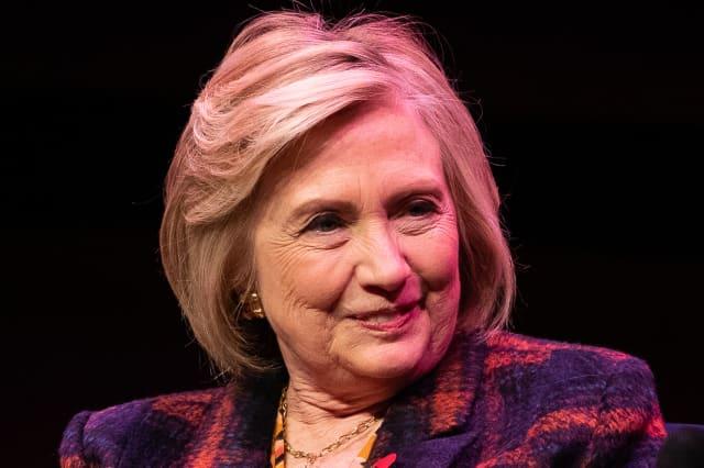 Hillary Clinton book launch