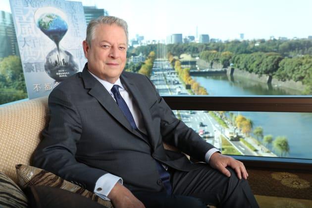 来日したアル・ゴア氏