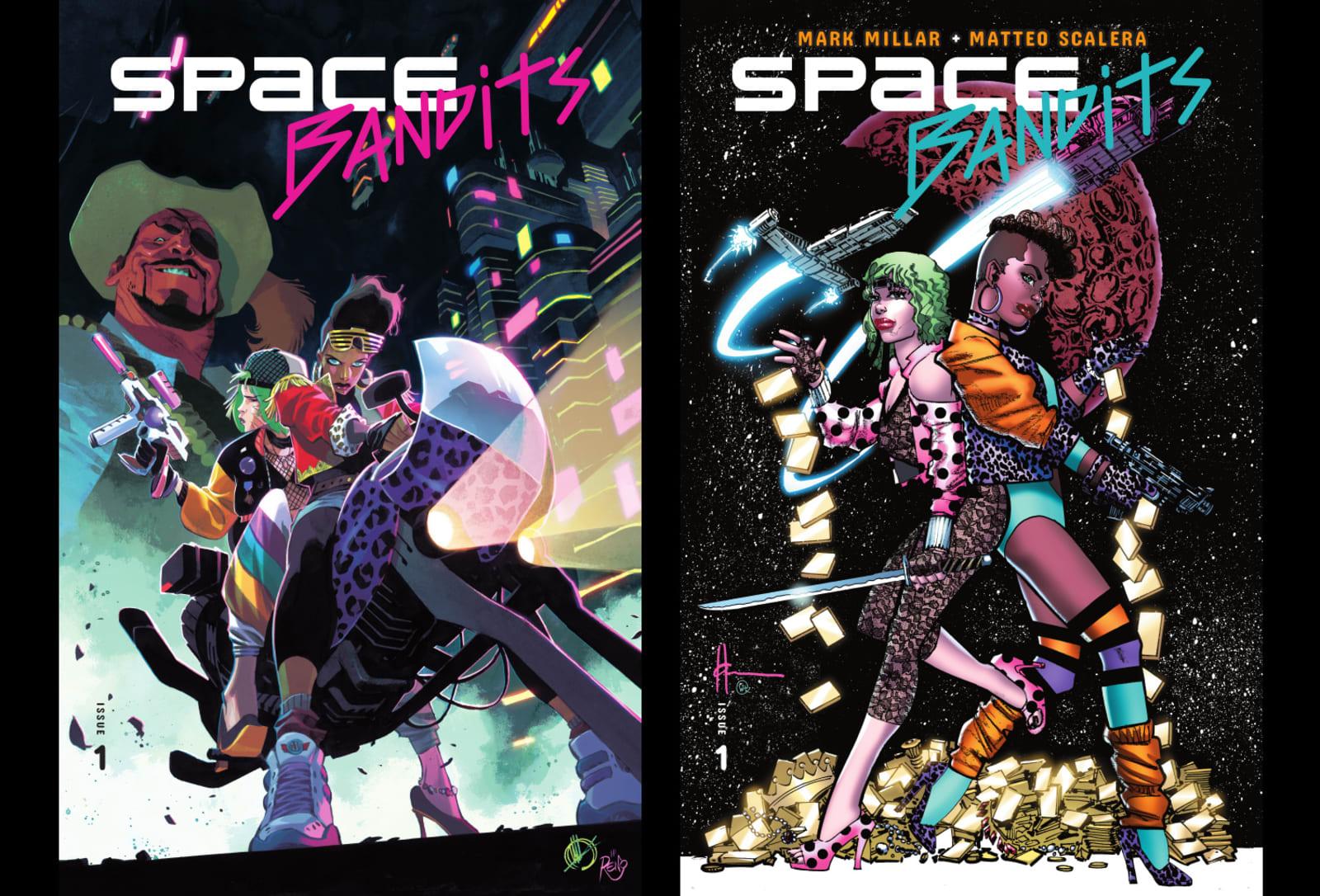 Netflix's next Mark Millar comic book is upbeat sci-fi 'Space Bandits'
