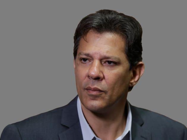 Fernando Haddad, candidato por el PT, sustituyó la posición de Lula da Silva tras serle imposible participar.