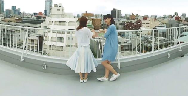 「LGBT×VR ~レズビアンオフィス編~」の一場面