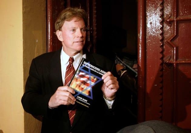 David Duke, ex-líder del Ku Klux Klan en Estados Unidos.