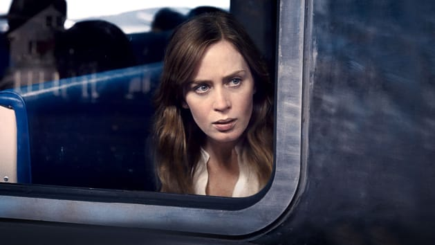 """This is a girl on a train in """"The Girl On A Train."""""""