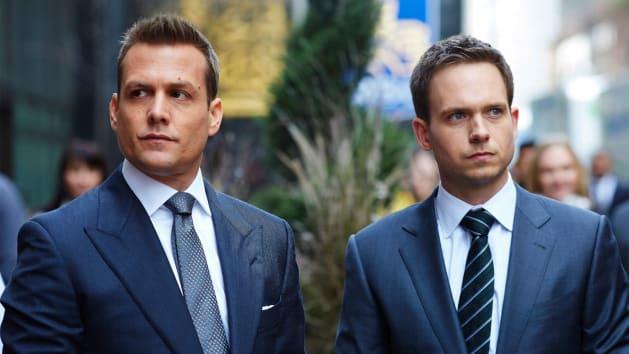 """Men in """"Suits."""""""