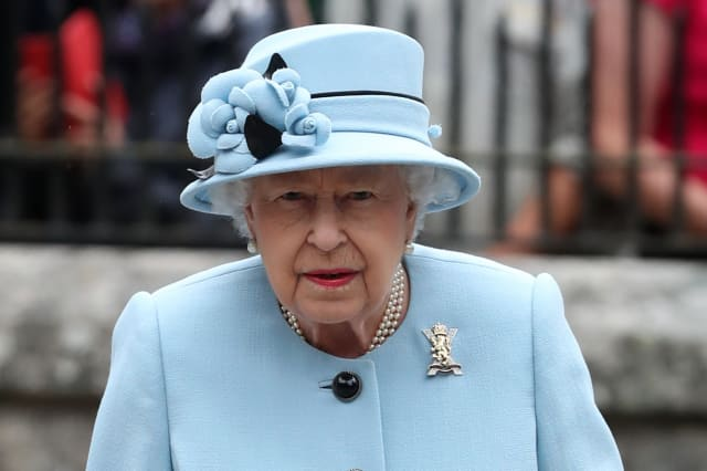 Queen summer residence at Balmoral 2019