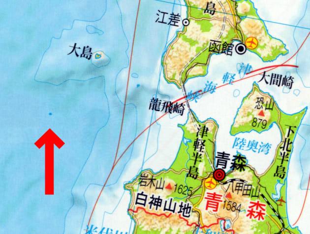 二宮書店の「基本地図帳 2013-2014」より。