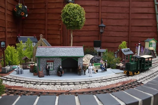 A woman has built a 'real life' model village