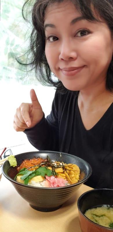 ウニ・イクラ丼と私