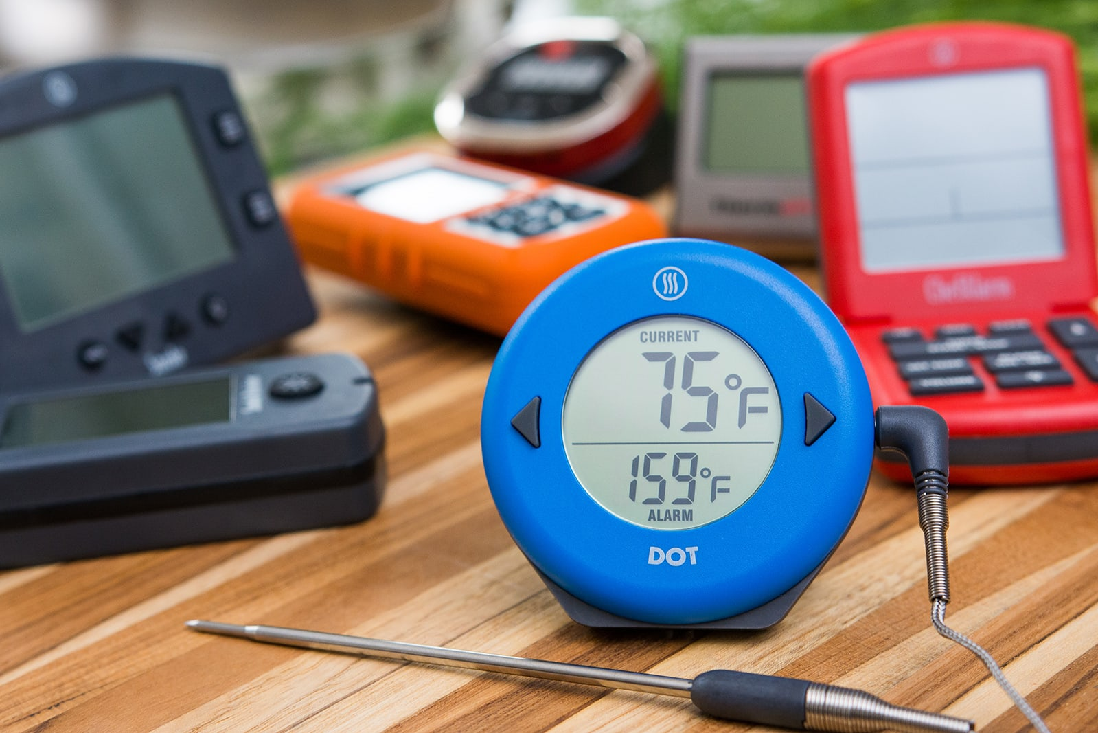 Probe thermometer