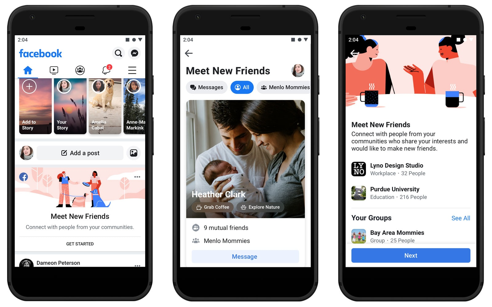 Facebook helps you grow your social circle with 'Meet New
