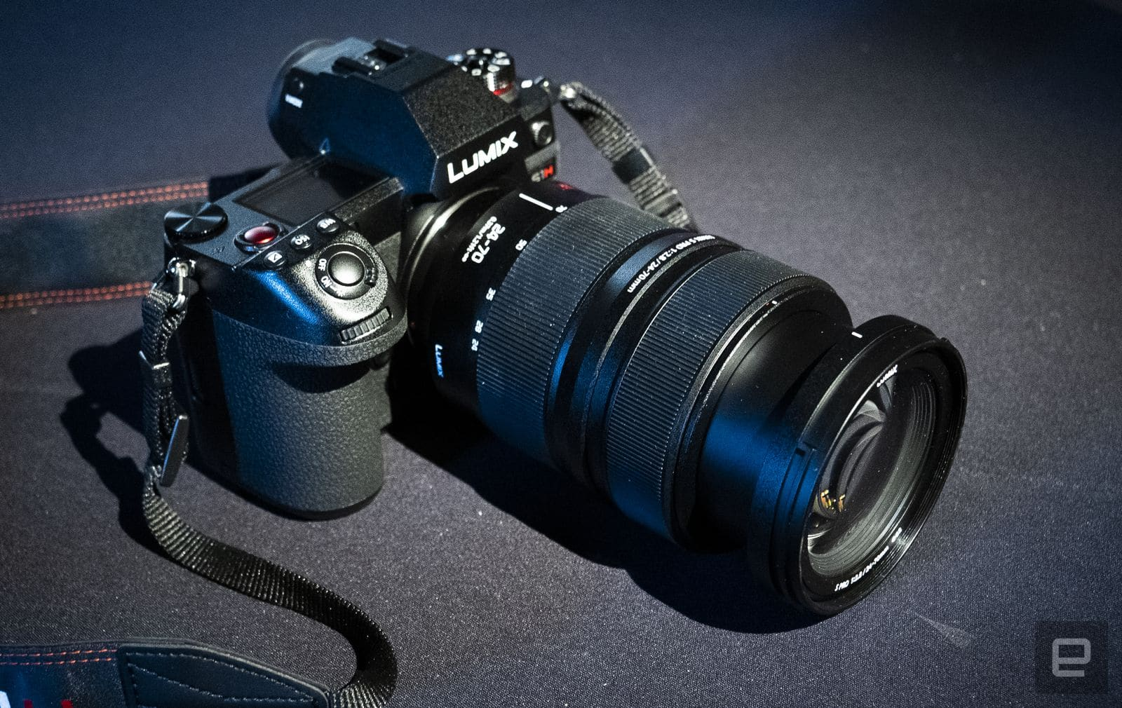 Panasonic S1H full-frame video-centric mirrorless camera