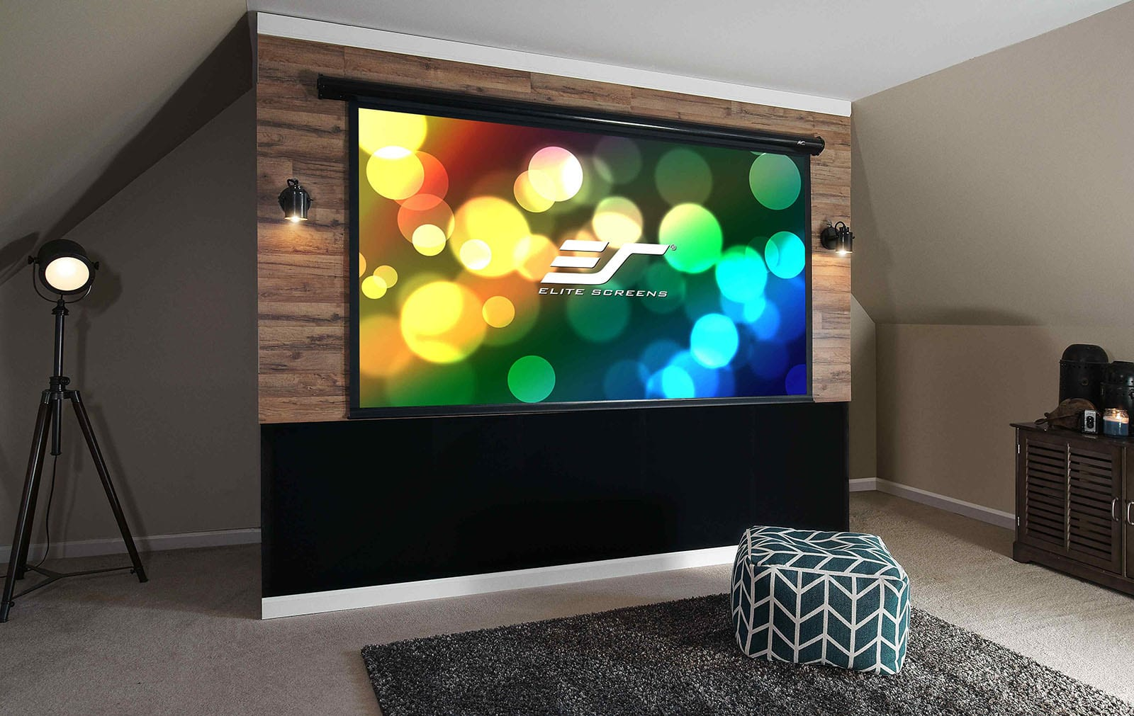 Elite Starling 2 motorized projection screen