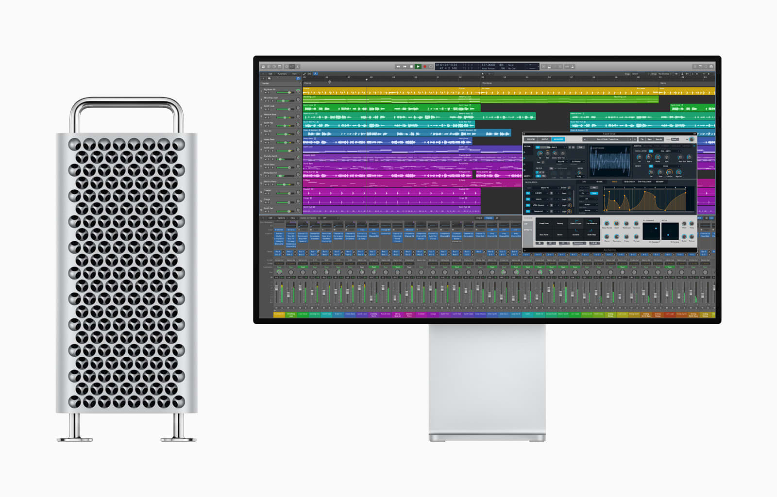 Apple Logic Pro X and Mac Pro