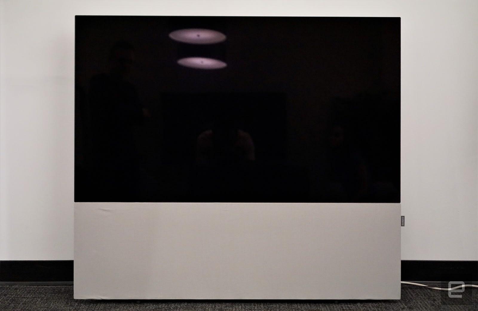 Canvas OLED speaker