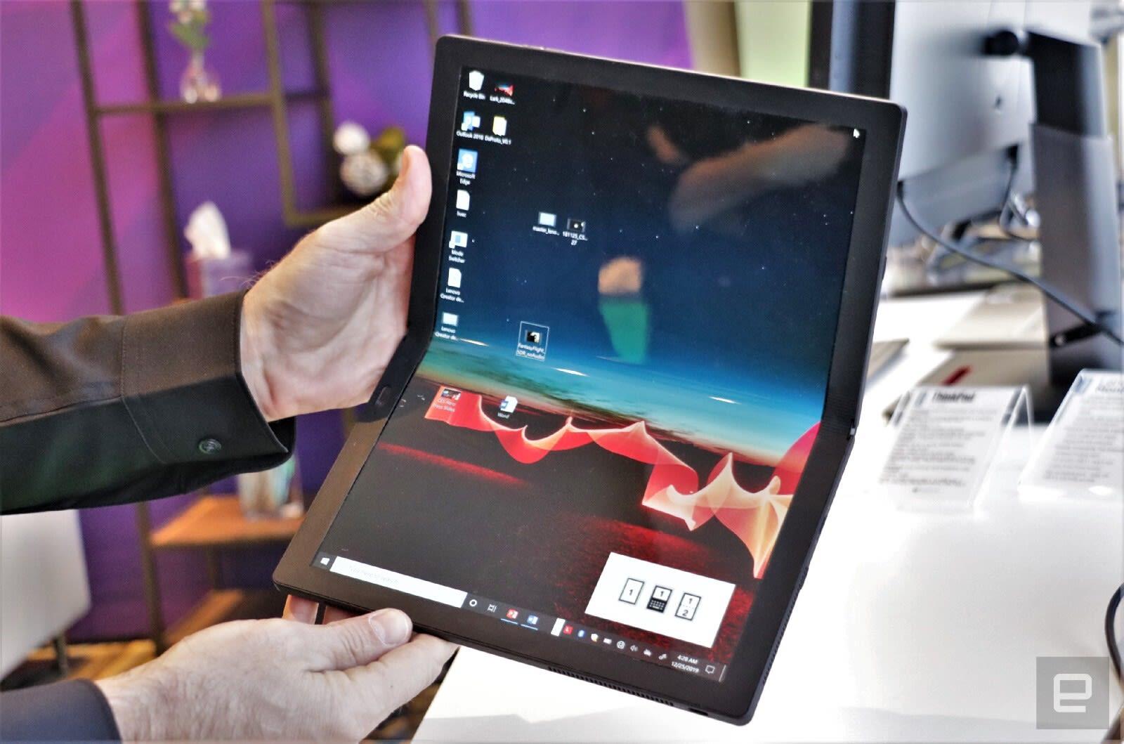 Windows Phone: Lenovo ThinkPad X1 Fold