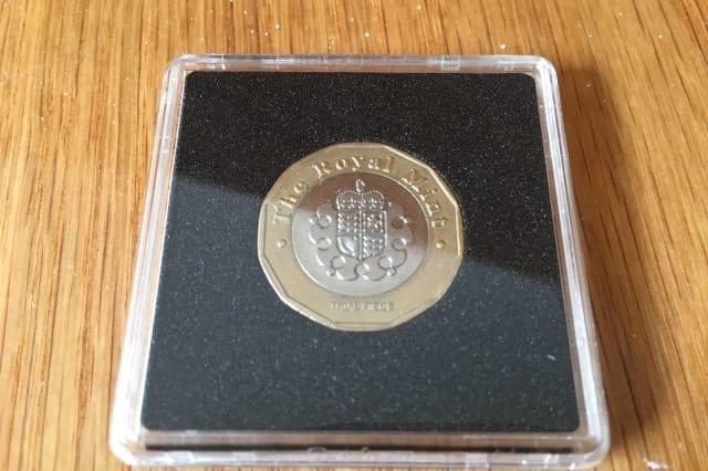 A trial £1 coin