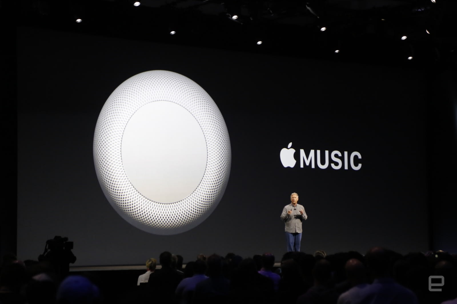 177f91d72ee Apple's Phil Schiller discusses Apple Music on the new HomePod smart  speaker at WWDC 2017
