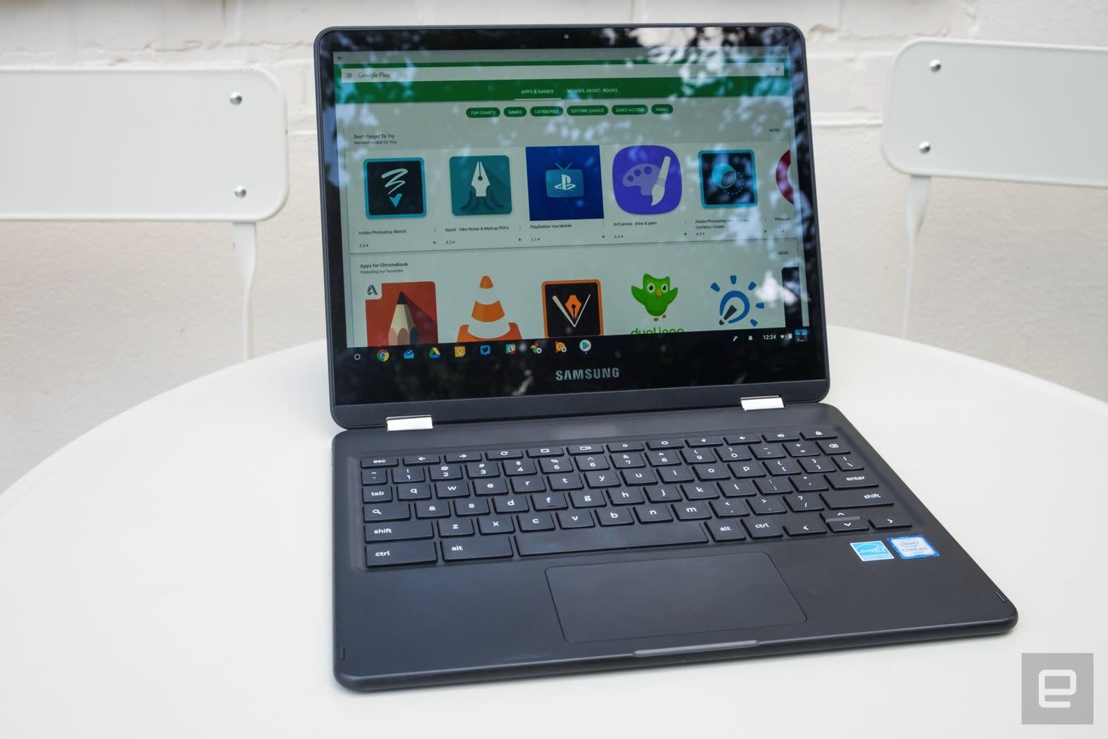 690690b44b9 Samsung Chromebook Pro review  One misstep spoils the show