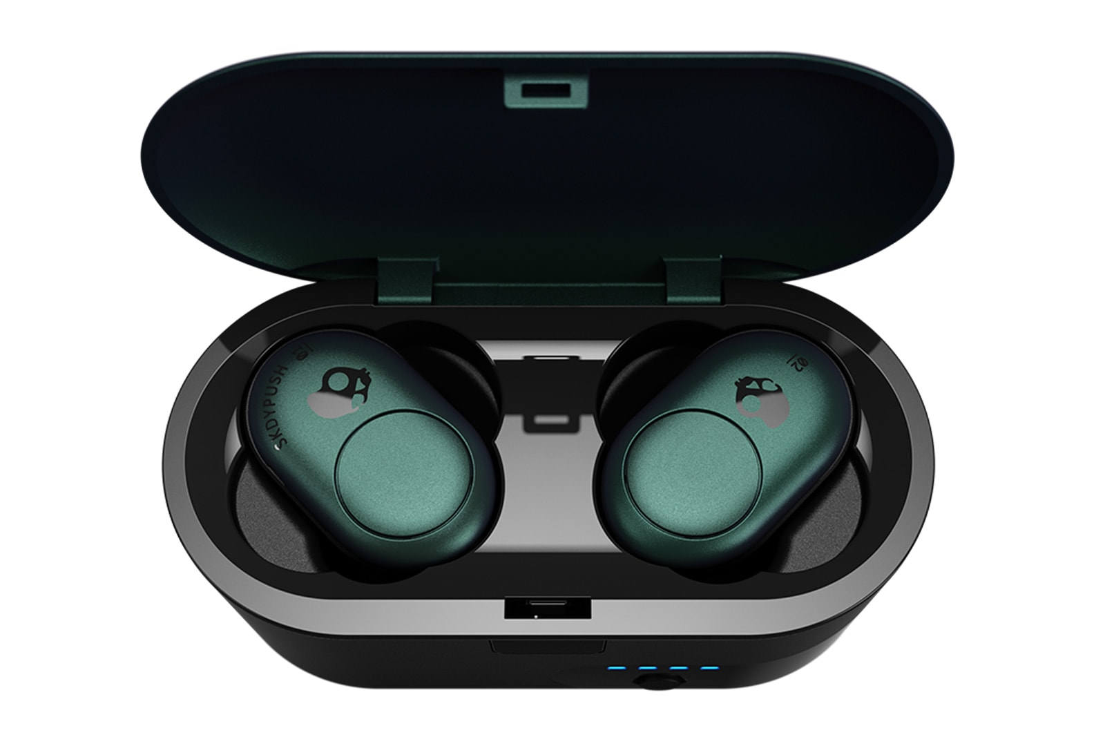 Skullcandy Push wireless earbuds in their case