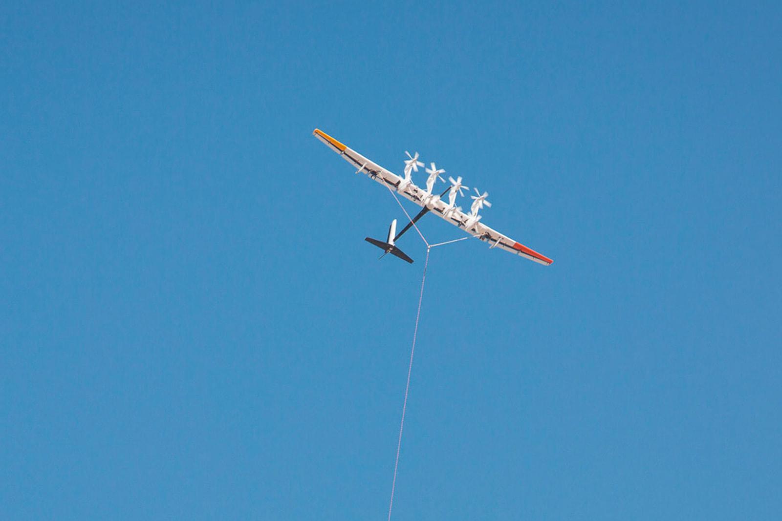 Shell backs Alphabet's power-generating kites in latest renewable bet