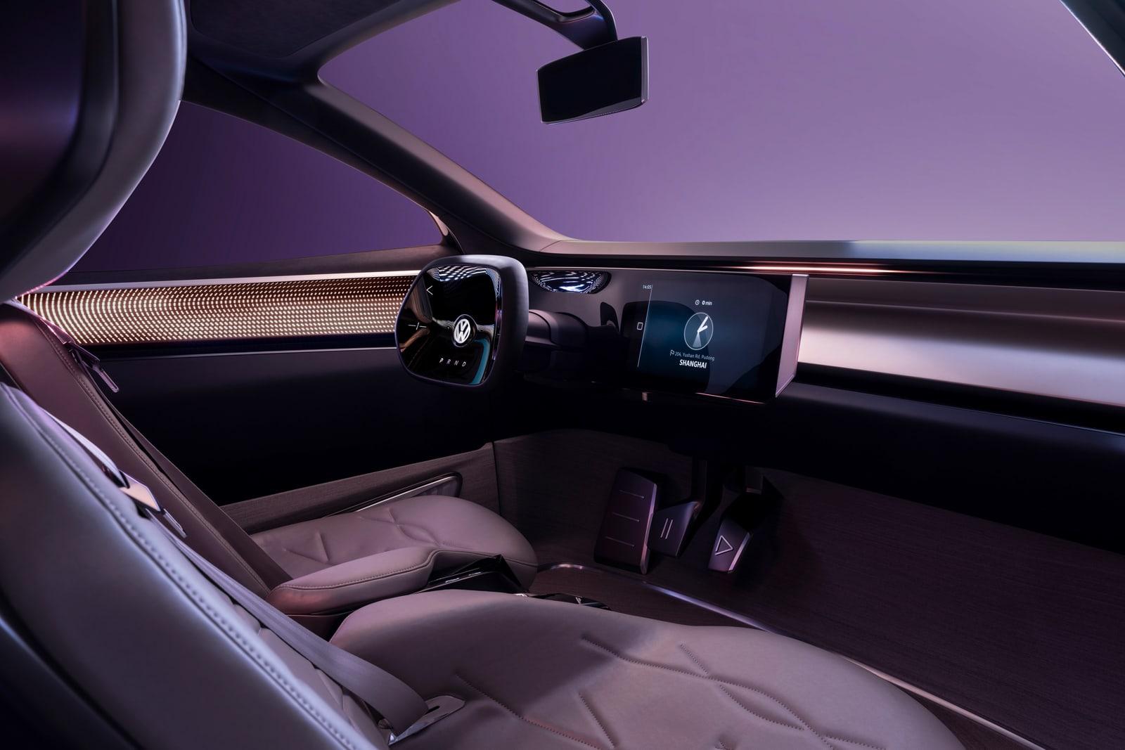 VW ID Roomzz concept interior