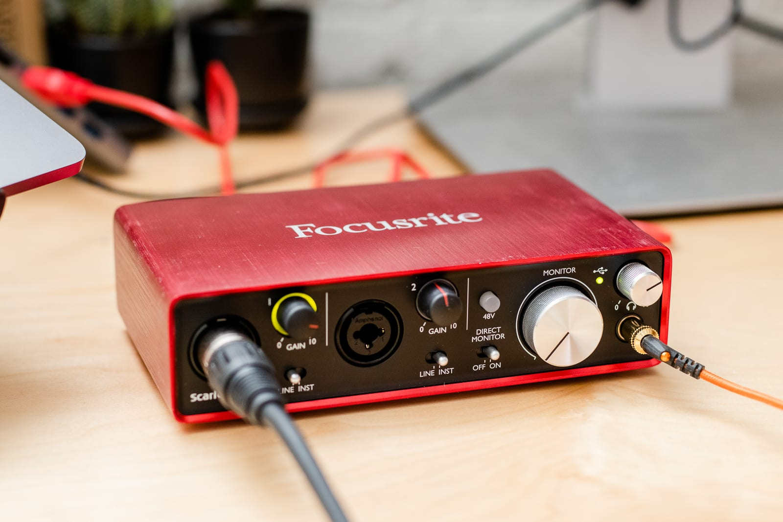 USB audio interface