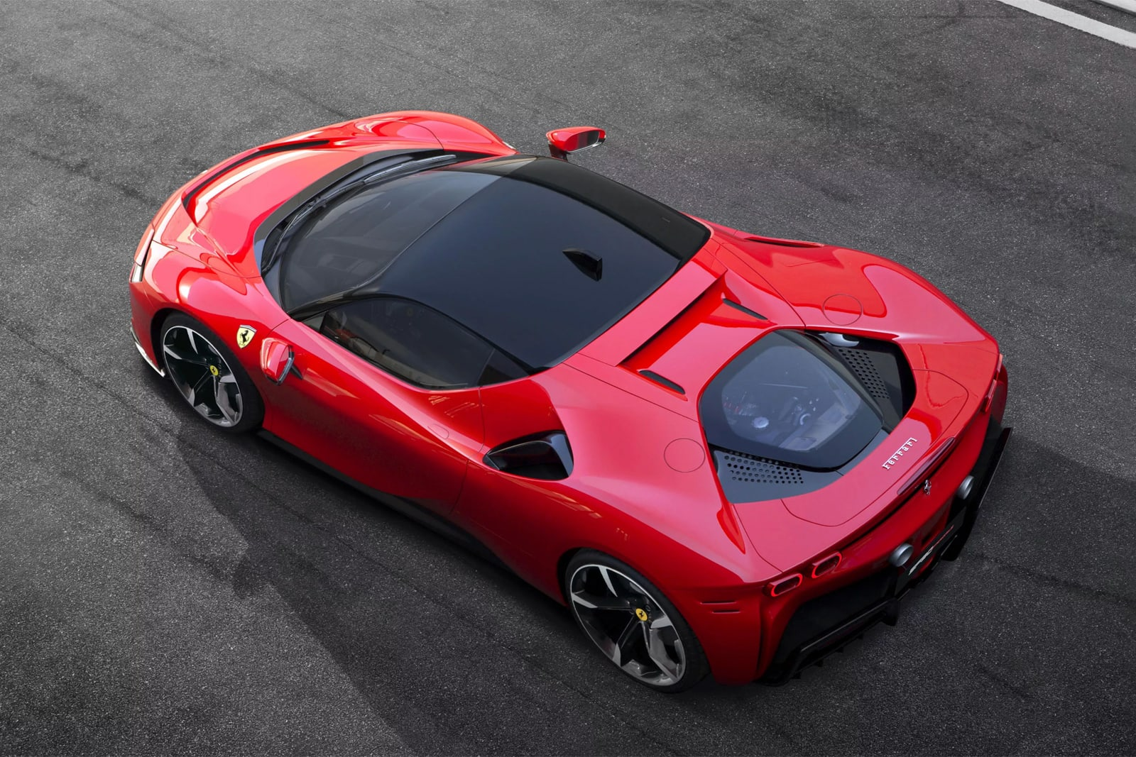 Ferrari's first production plug-in hybrid is its fastest supercar yet