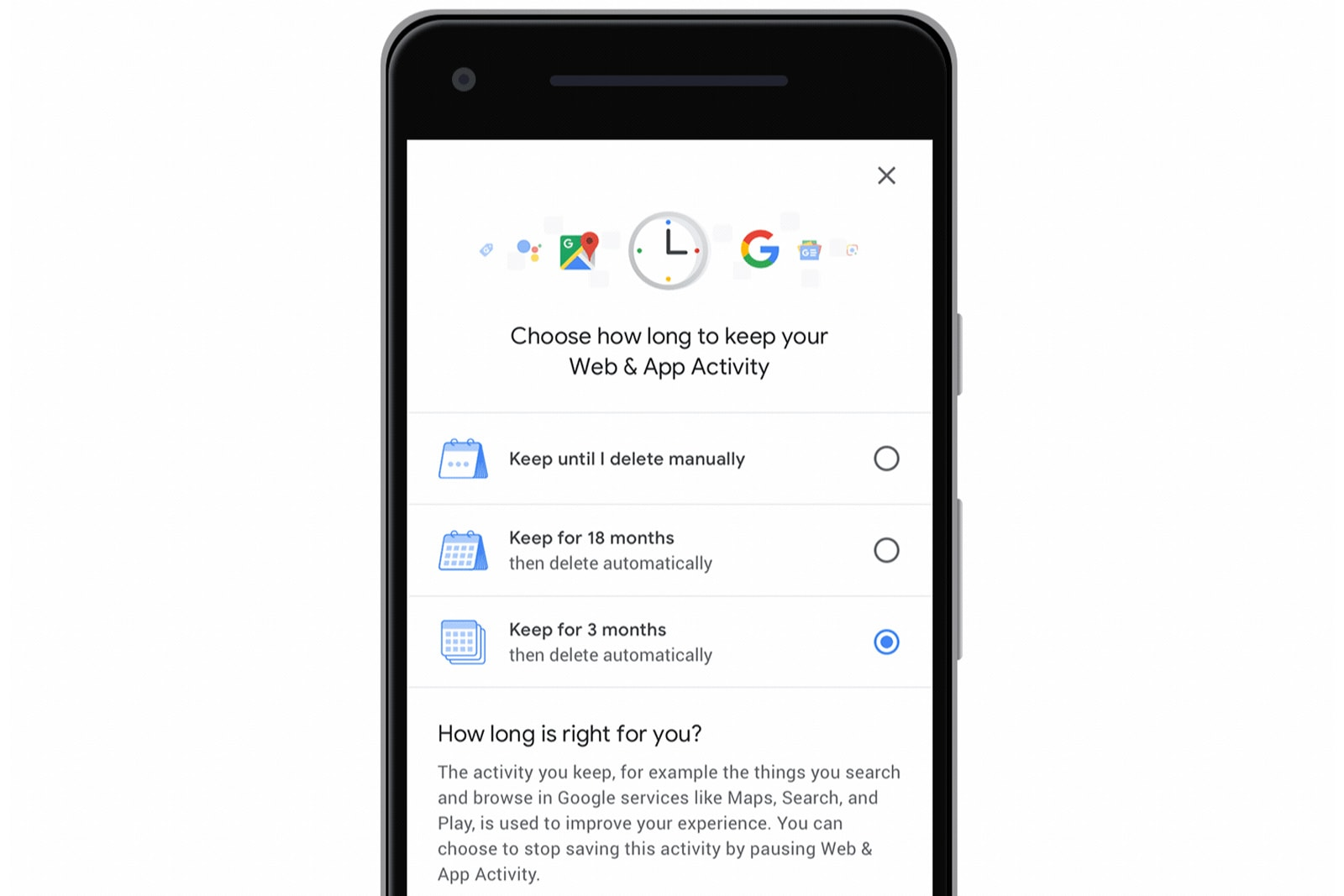 Google now lets you auto-delete your location history