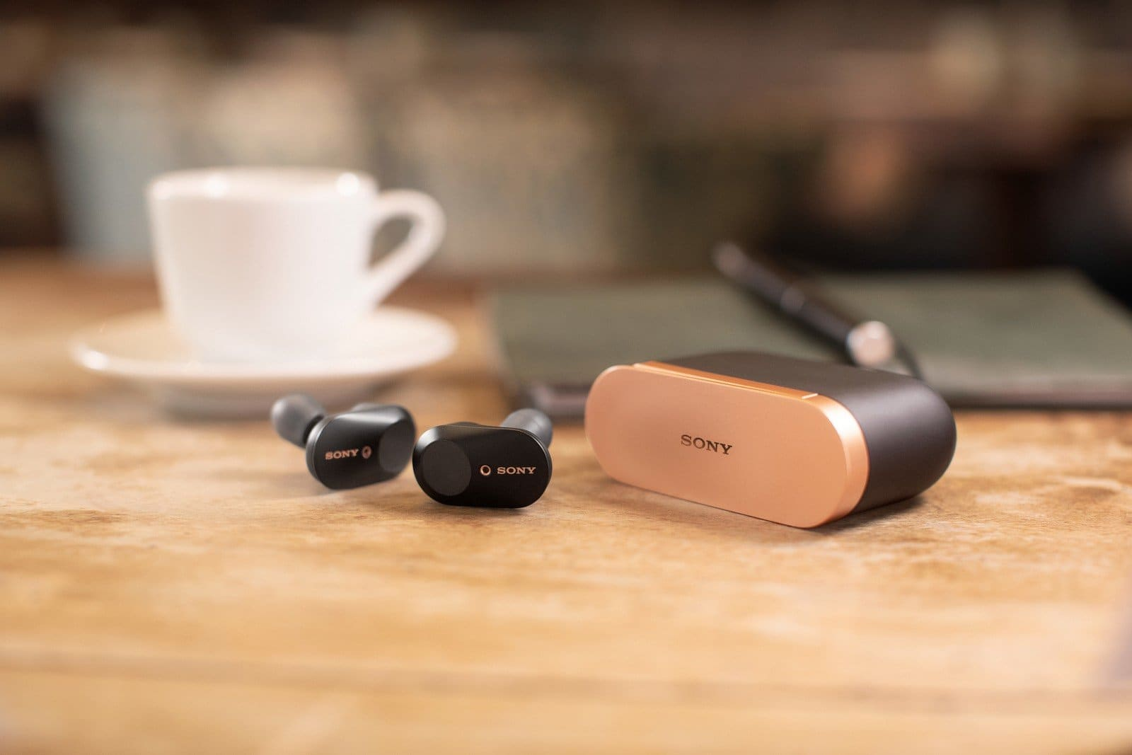Sony wireless earbuds