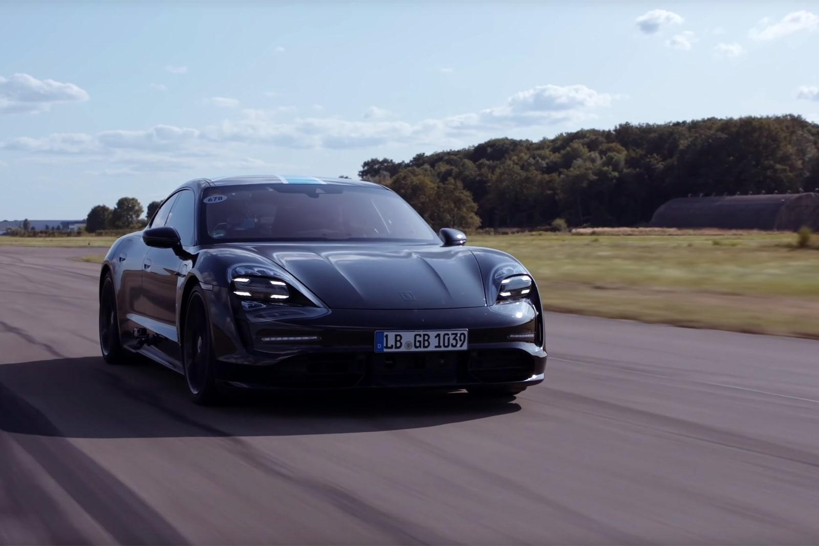 Porsche Taycan test drive shows the EV's repeatable launch control