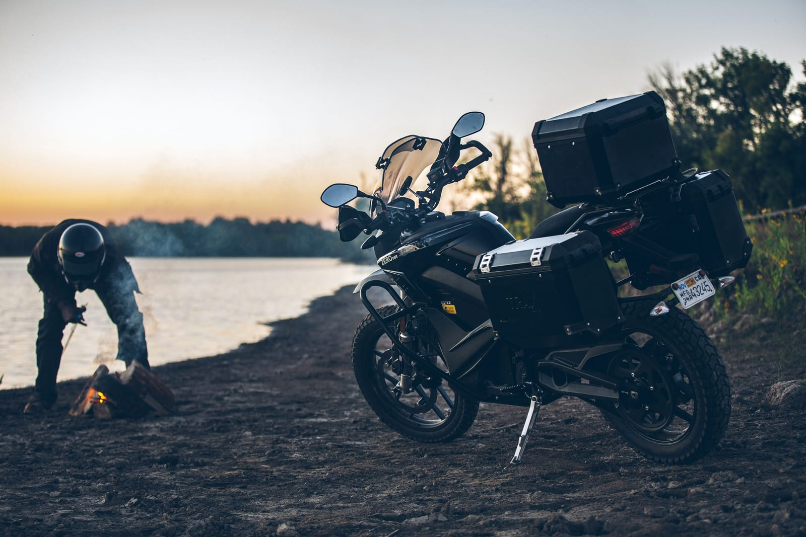 Zero's 2020 electric motorcycles include one that's loaded for adventures
