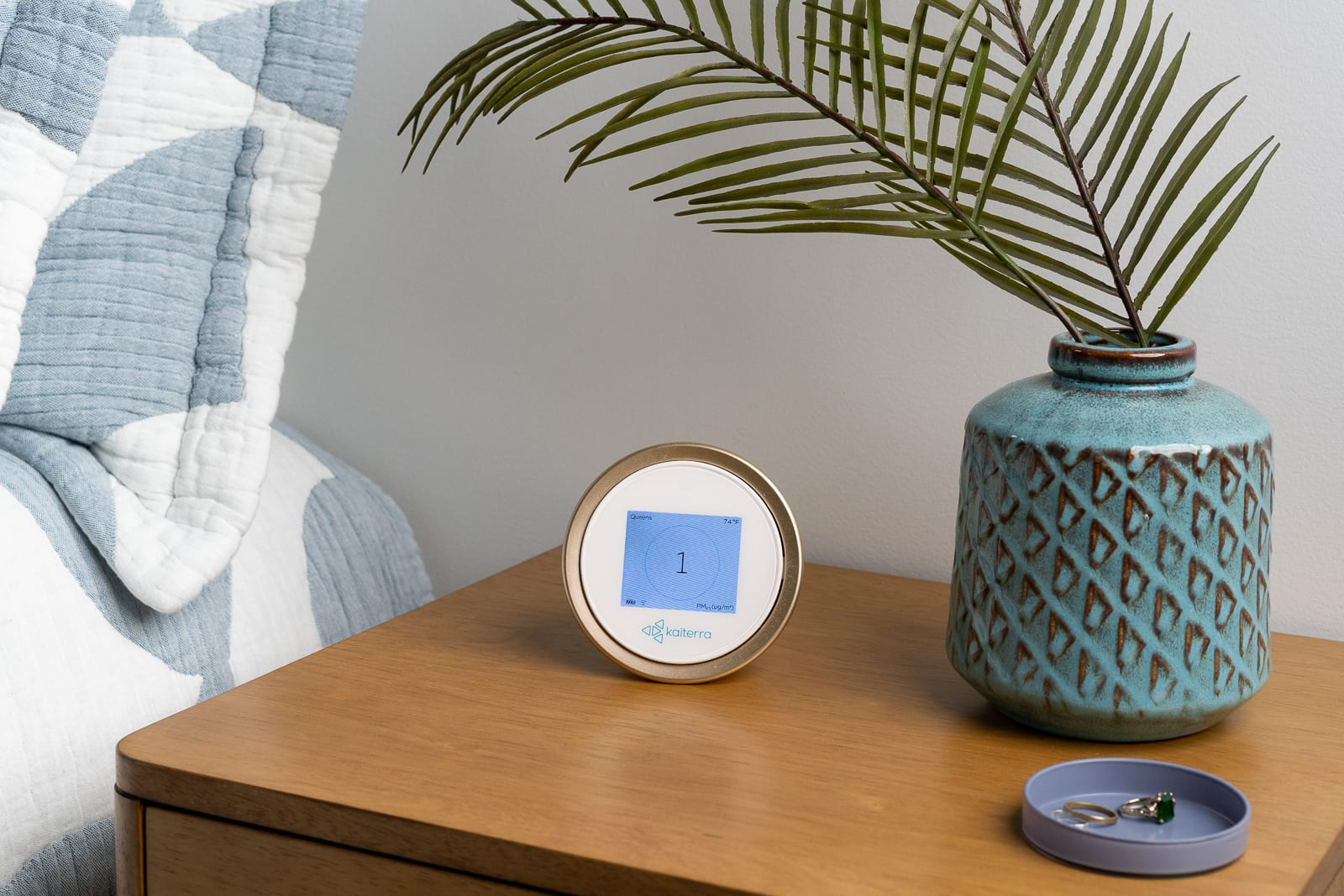 Home air quality monitor