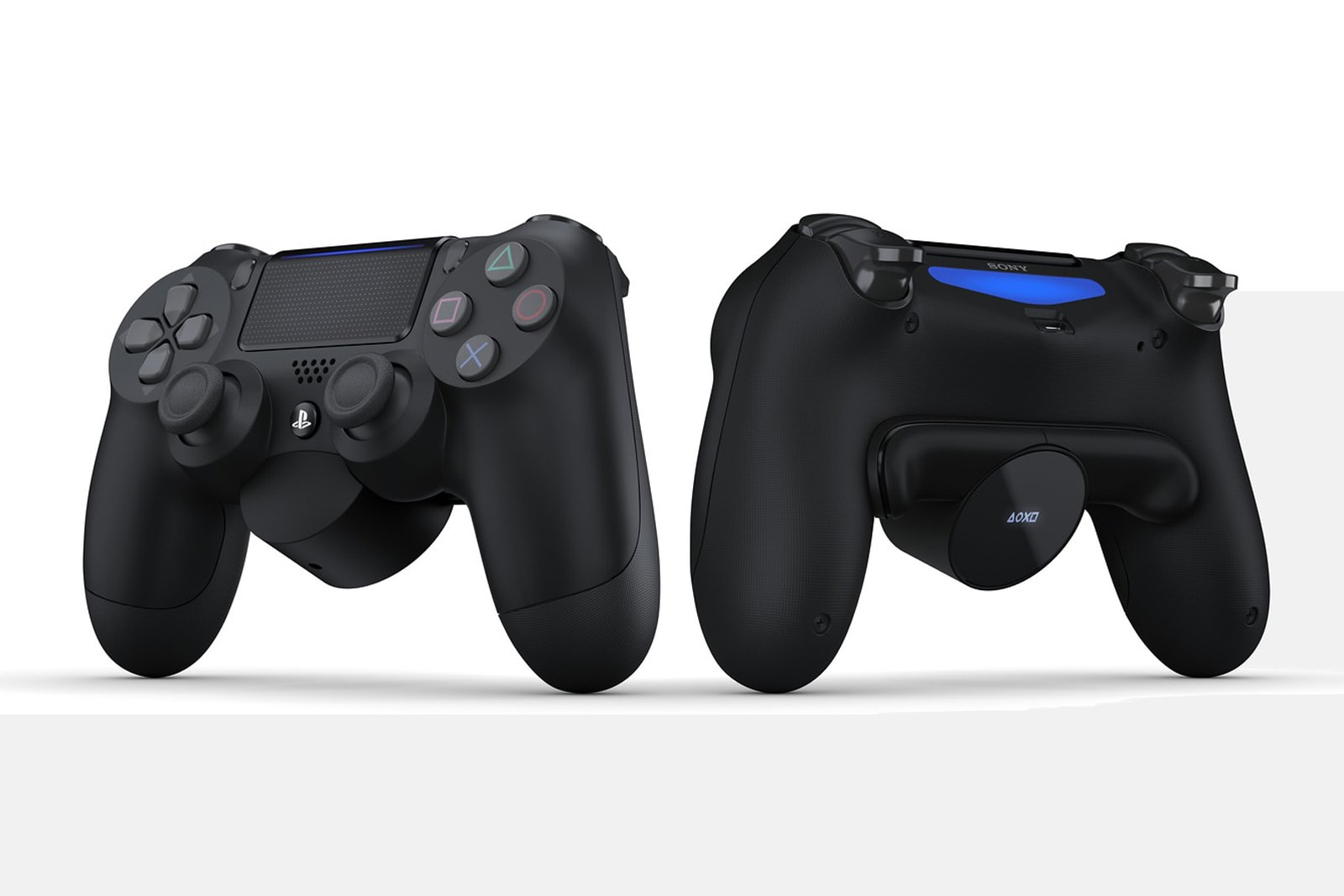 Sony's DualShock 4 attachment adds customizable buttons around back