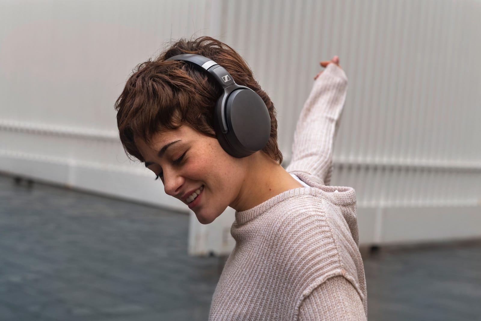 Sennheiser's latest over-ear wireless headphones offer affordable ANC