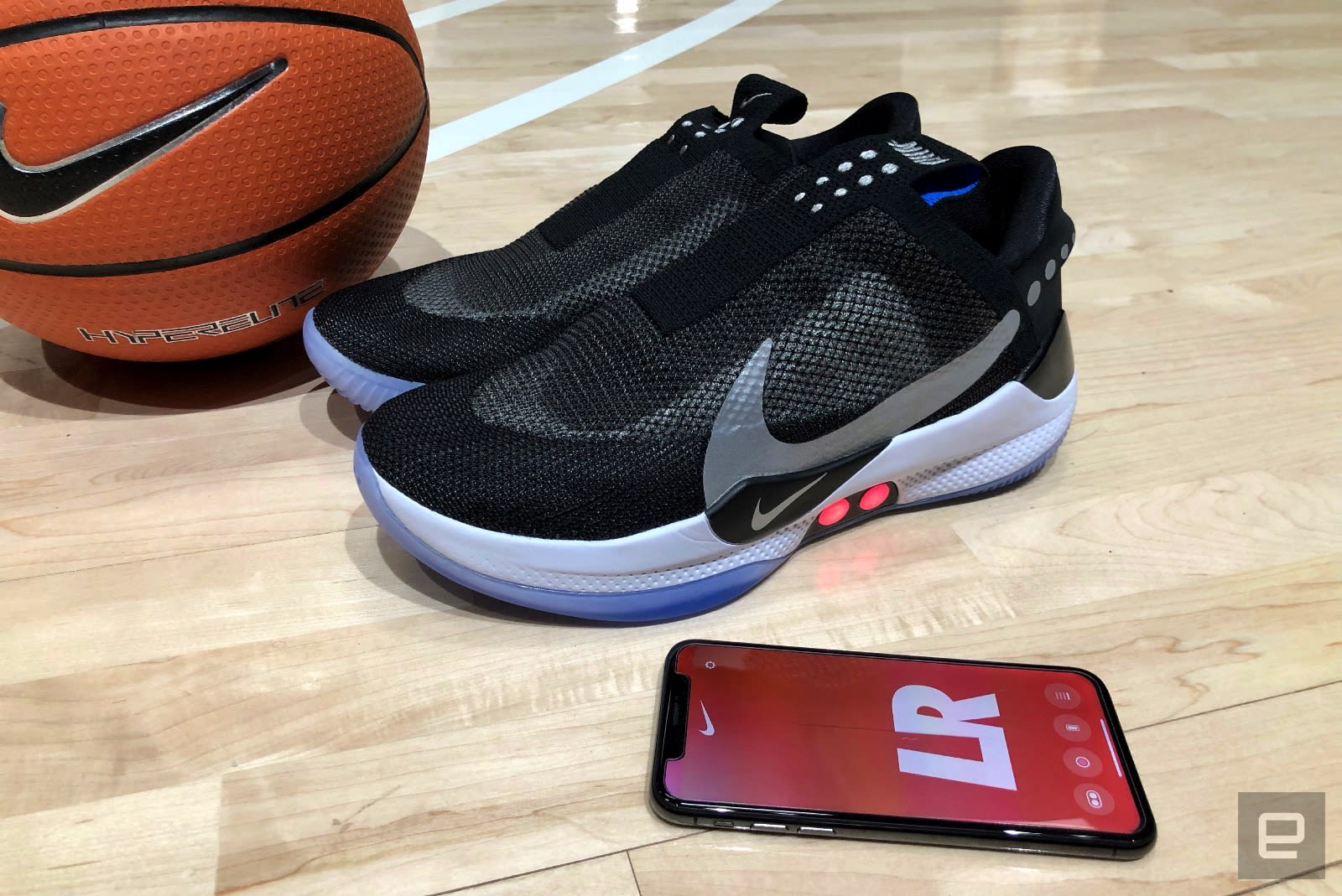 7e623955e A closer look at Nike s Adapt BB auto-lacing basketball shoes