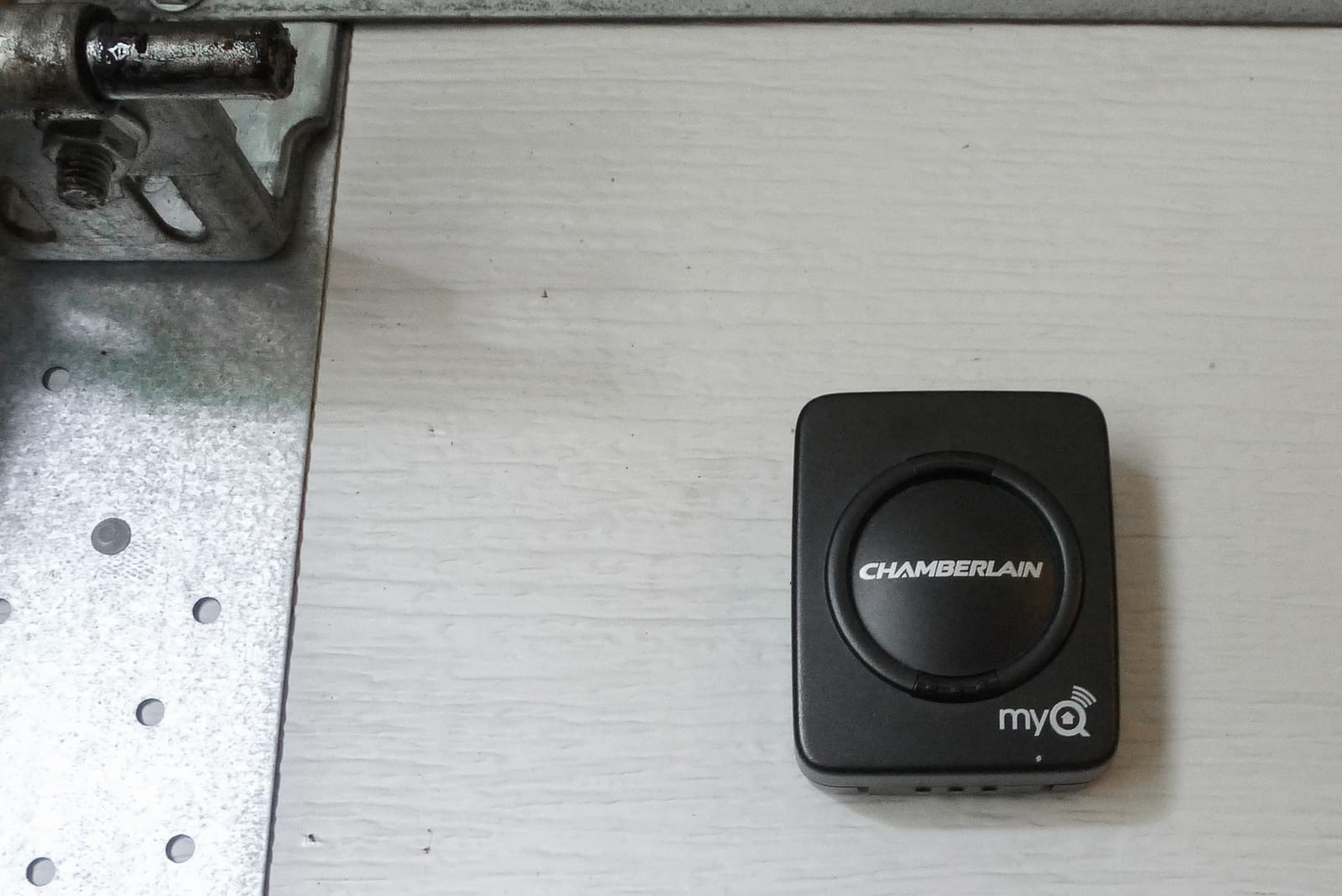Smart garage-door controller