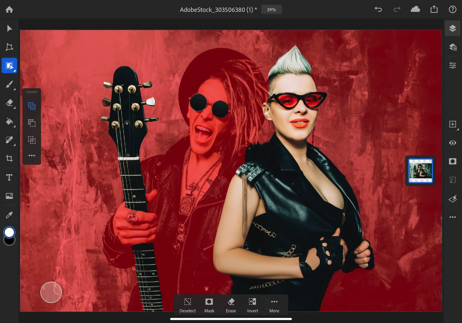 Adobe brings more desktop-quality Photoshop tools to the iPad