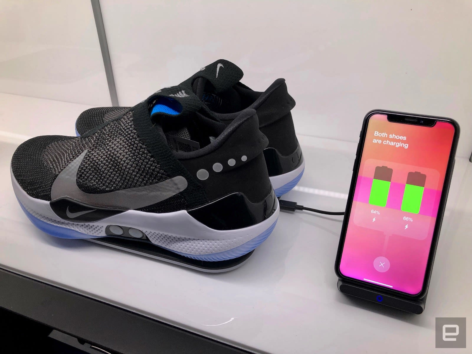60c055c02d5 A closer look at Nike s Adapt BB auto-lacing basketball shoes