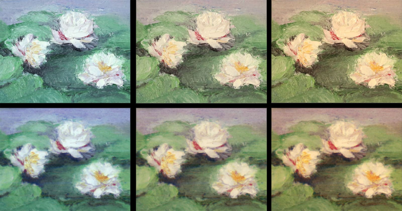 AI faithfully recreates paintings with the help of 3D printing