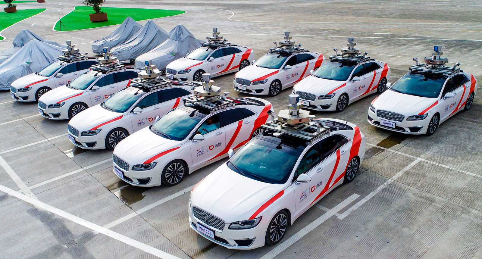Ridesharing giant Didi Chuxing will offer robotaxi service