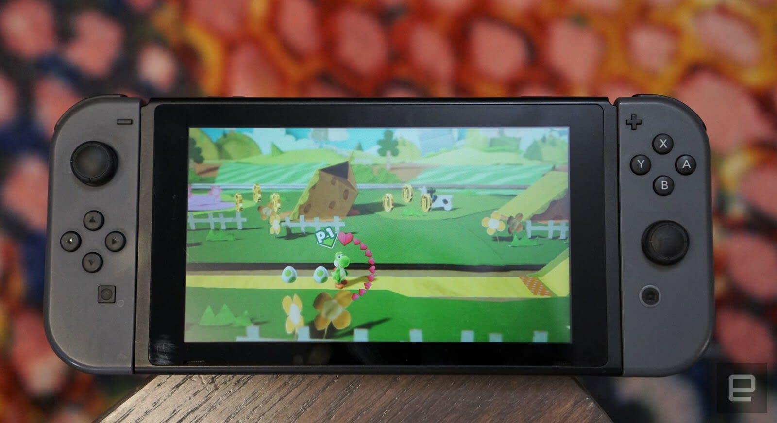 Gaming on Nintendo Switch