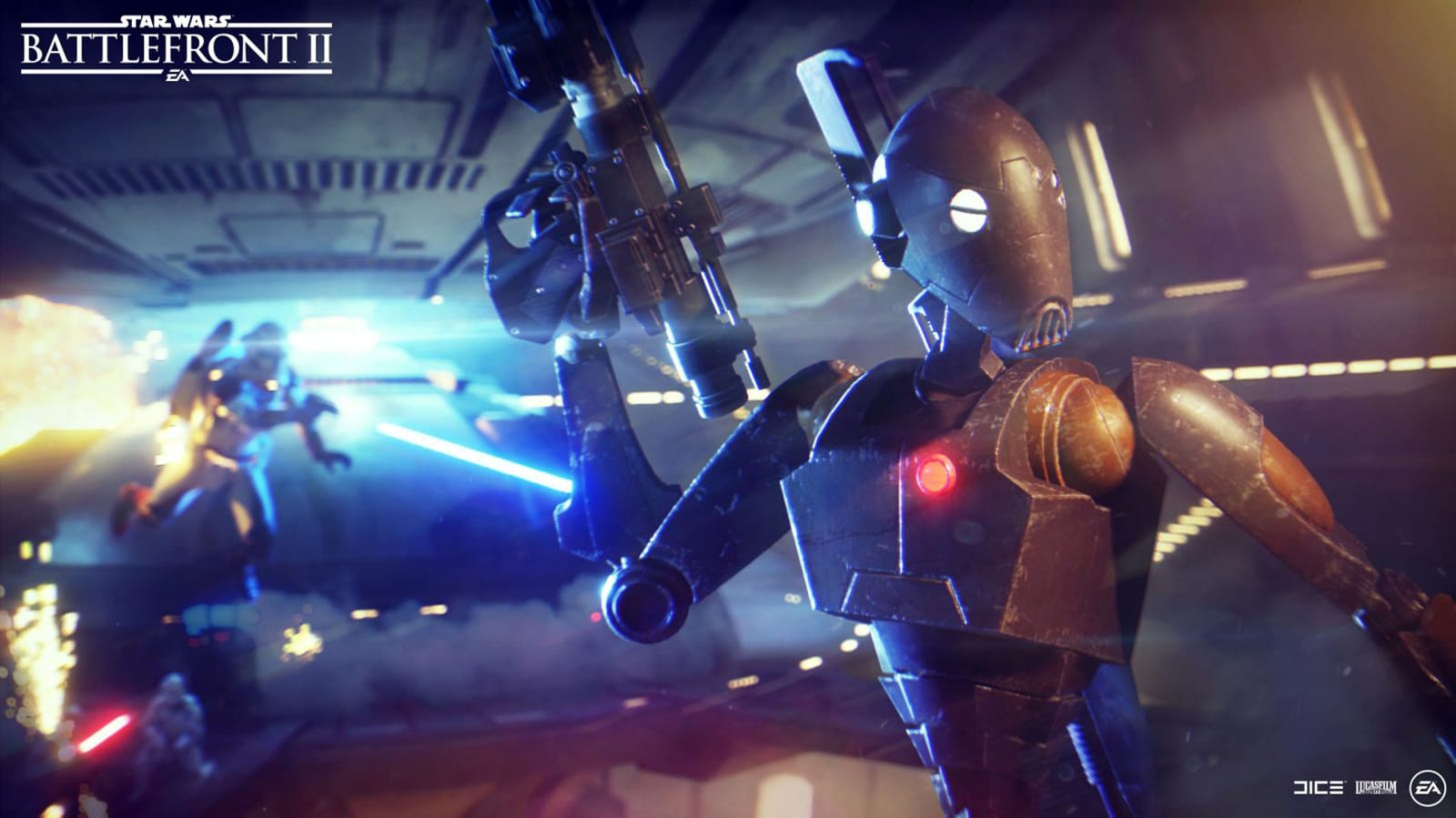 The latest 'Star Wars Battlefront II' mode mixes human and AI players