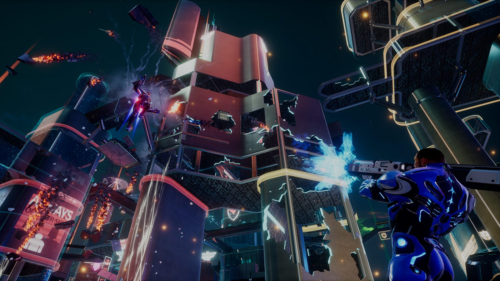 'Crackdown 3' lets you team up with friends in Wrecking Zone