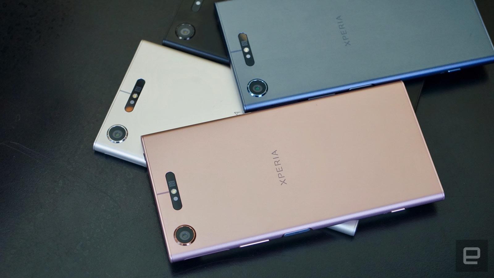 Sony Xperia XZ1 hands-on: Pricey camera tricks