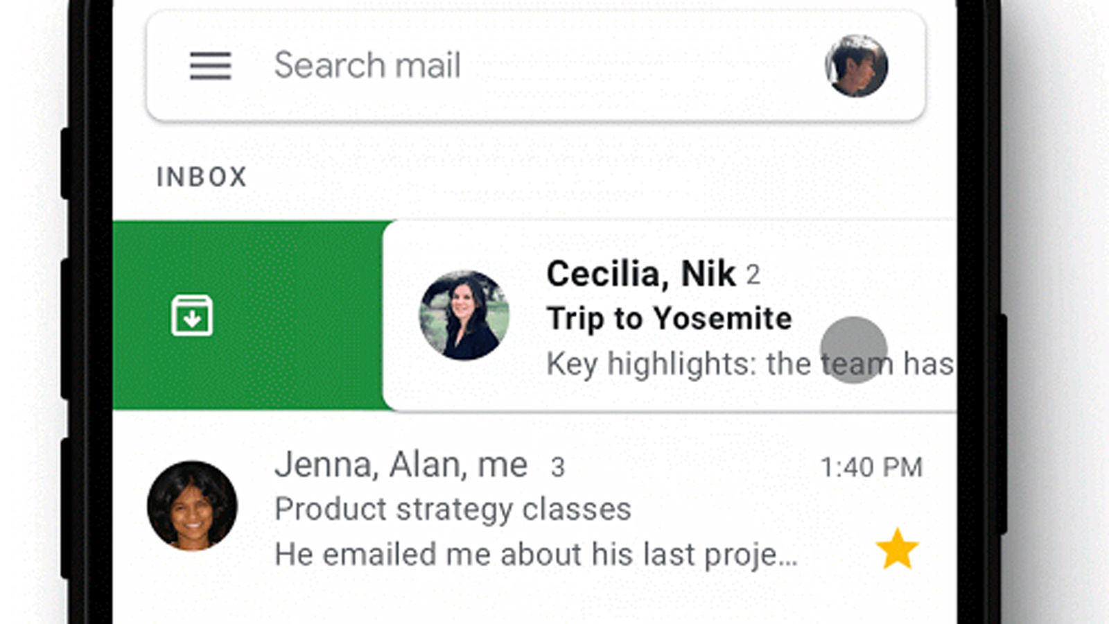 Gmail finally offers customizable swipe actions on iOS